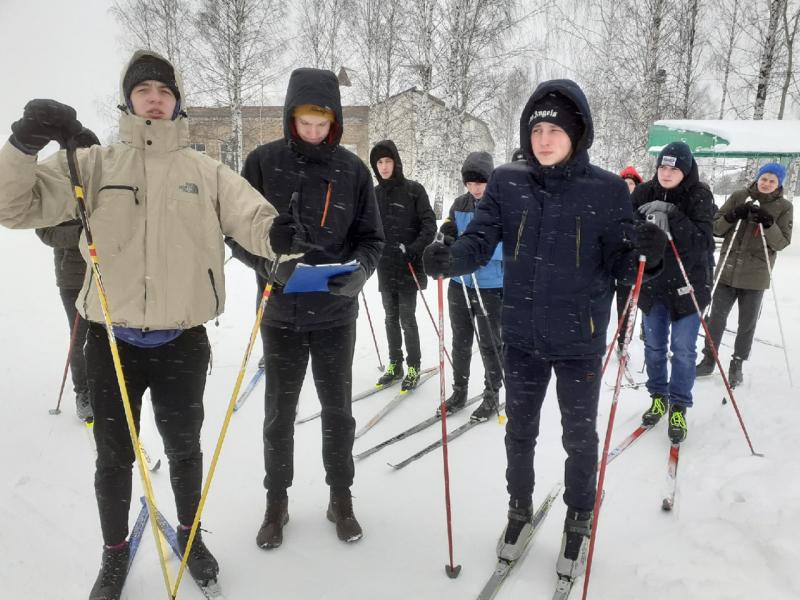 лыжные гонки в зачет спартакиады ЛФ, март 2021 г.