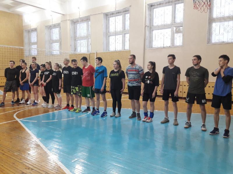 Первенство по волейболу, декабрь 2020 г.